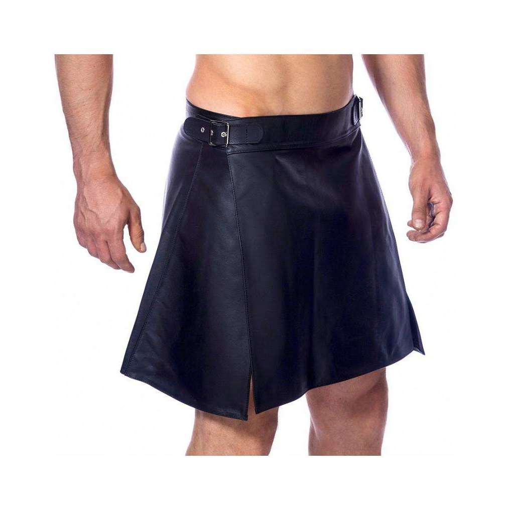 Rimba - Mens Leather Skirt Kilt