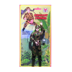 Sergeant Stroker - Wind-Up Gag Gift Cute