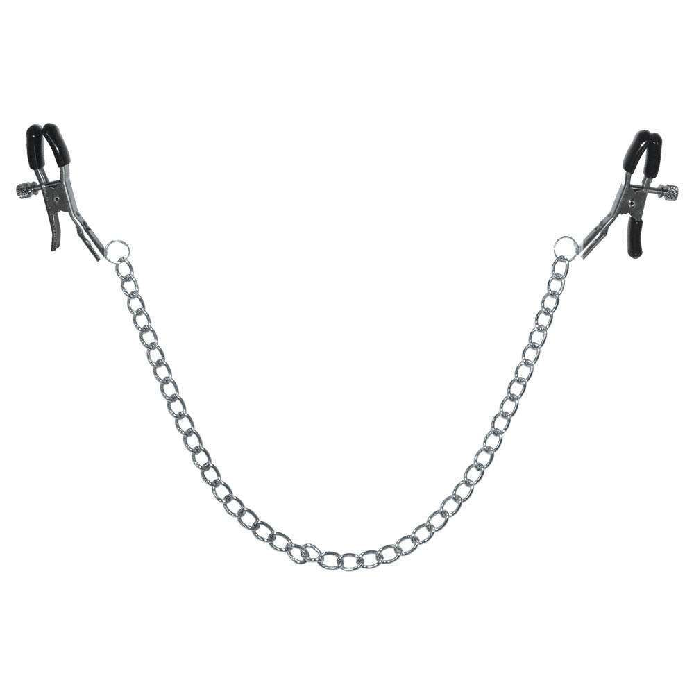 Sex And Mischief - Chained Nipple Clamps