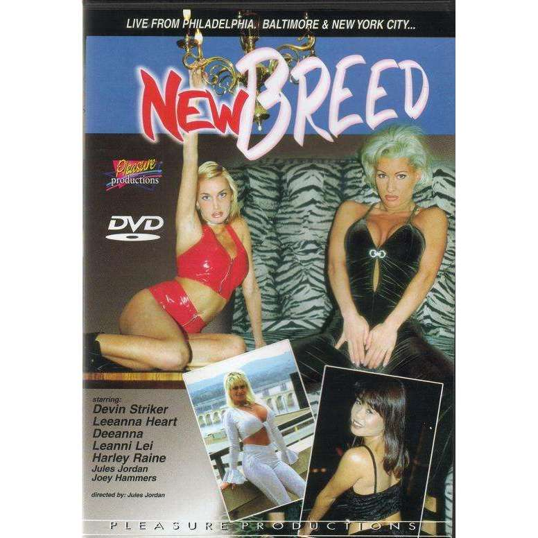 Straight Dvd - New Breed - Leeanna Heart