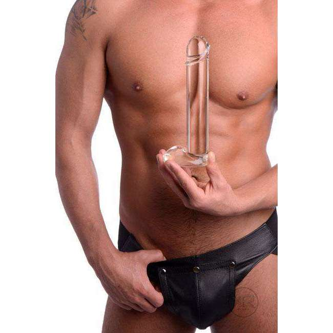 Sukra Glass Dildo - Penis Shaped