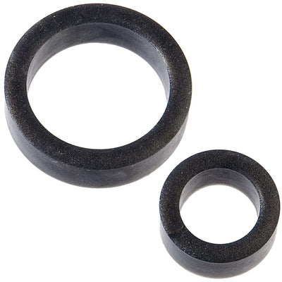 The C-Rings - Platinum Premium Silicone Cock Rings - Set of 2
