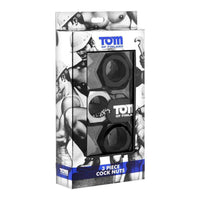 Tom of Finland Tools - 3 Piece Cock Nuts Cockring Set