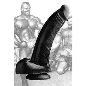 Tom of Finland Tools - Black Magic Dildo