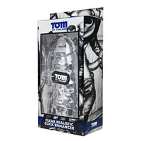 Tom of Finland Tools - Clear Realistic Cock Enhancer