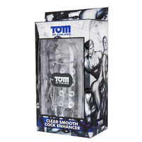 Tom Of Finland Tools - Clear Smooth Cock Enhancer