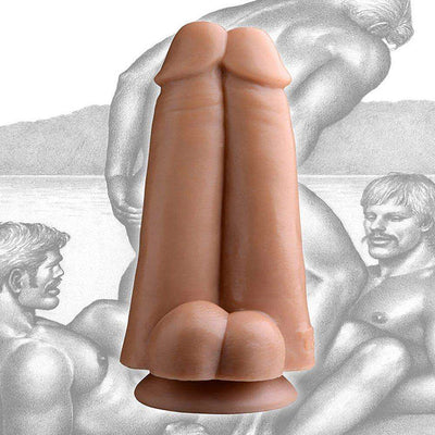 Tom of Finland Tools - Dual Dicks - Double Penetration Dildo