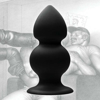 Tom of Finland Tools - Weighted Silicone Anal Butt Plug