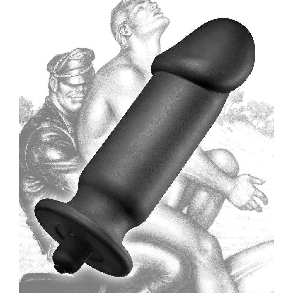 Tom of Finland Tools - XL Silicone Vibrating Anal Plug