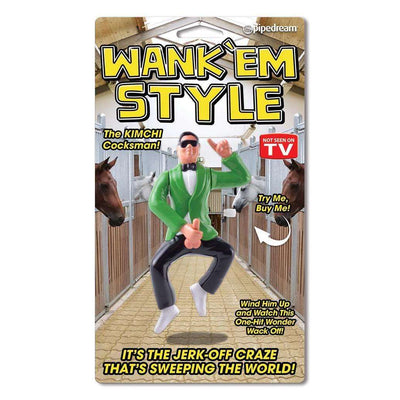 Wank 'Em Style Wind-Up Toy