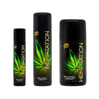 WET Hemptation Natural Organic Lube Lubricant
