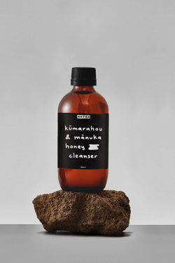 Kūmarahou and Mānuka Honey Cleanser