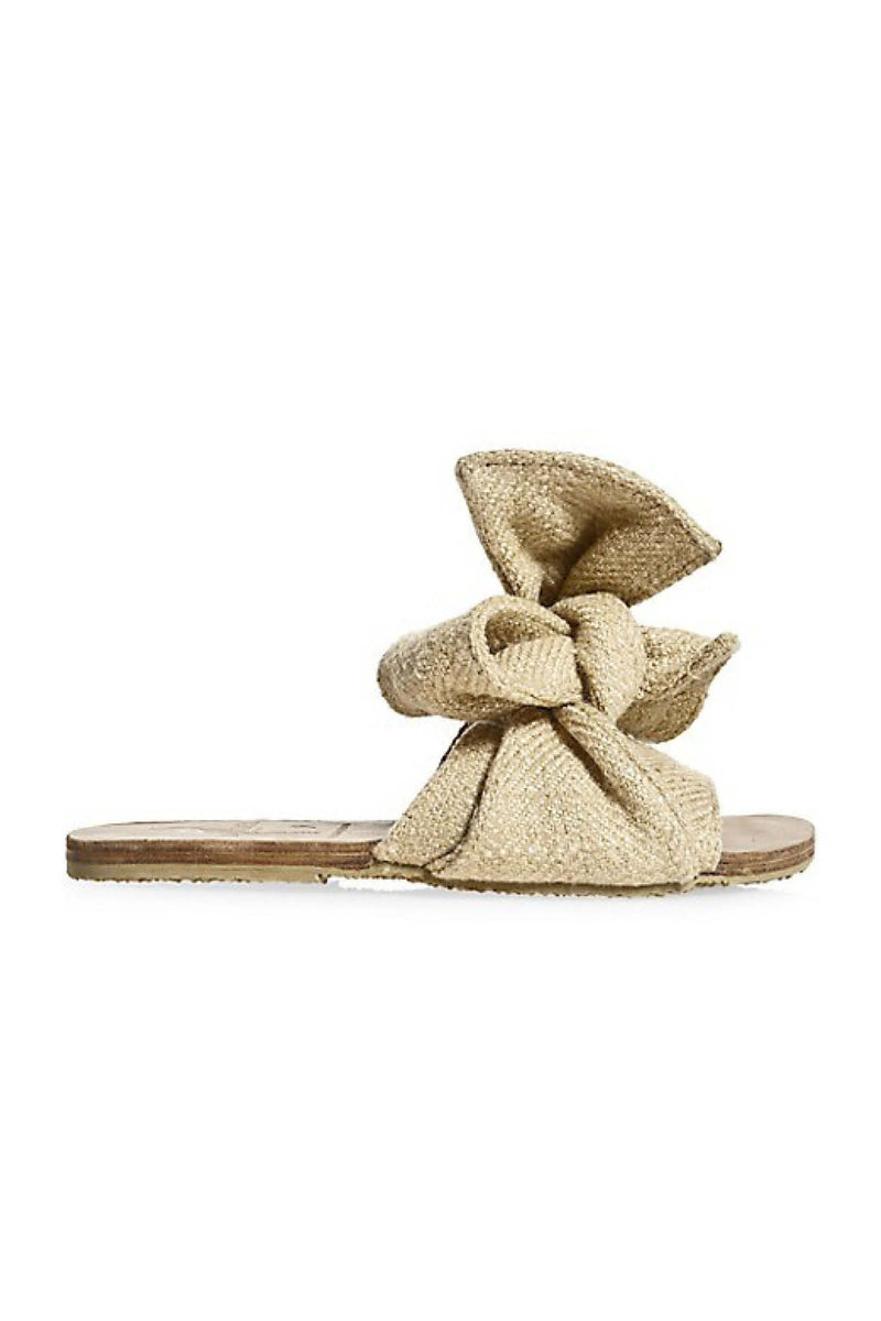 Burkina Slides - Natural Jute