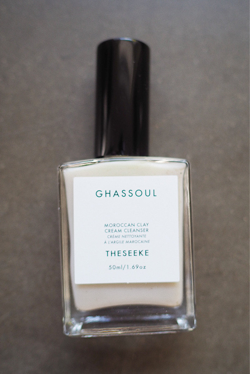 Ghassoul cream cleanser
