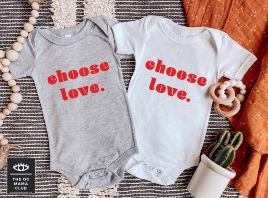 Choose Love Onesie | Toddler Shirt
