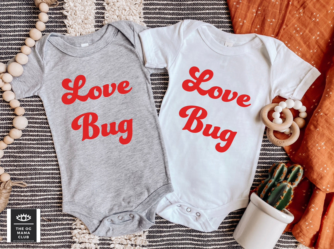 Love Bug Baby Onesie