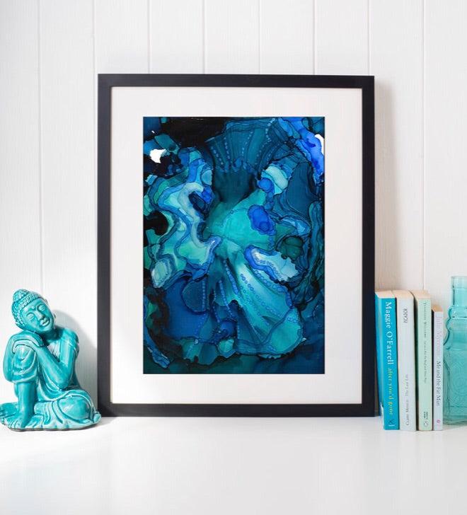 Emergence II - Abstract Art Print