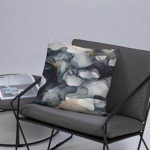 """Left My Wallet in El Segundo"" Abstract Throw Pillow"