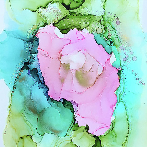 Secret Garden - Abstract Art Print