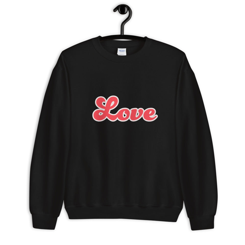 Retro Love Sweatshirt