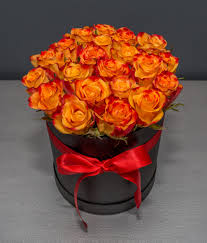 2 dozen Orange Rose in a Box
