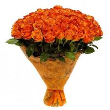 3 dozen Orange Roses in a Bouquet