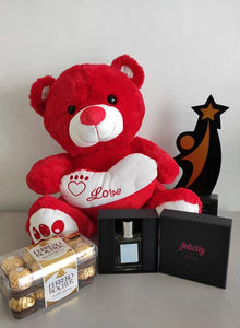 Philblossoms 16inches Bear with 16pcs Ferrero and Felicity Perfume