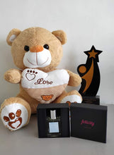 Load image into Gallery viewer, Philblossoms 16 inches Bear with Felicity Perfume