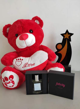 Philblossoms 16 inches Bear with Felicity Perfume
