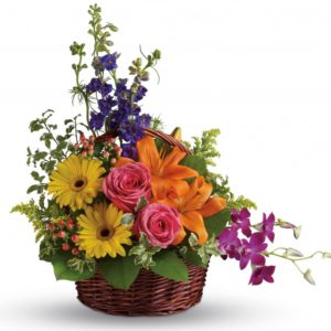Assorted Flower Basket