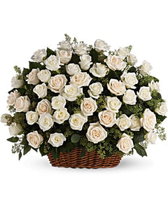 Beautiful White In a basket