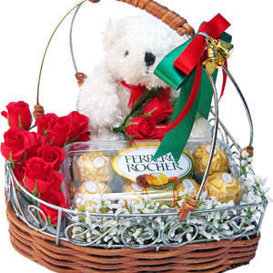 Combo Flower Basket