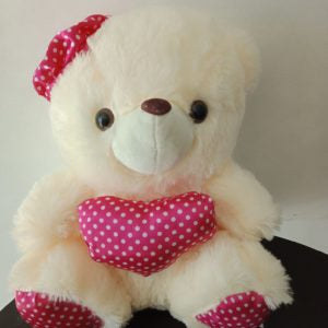 "White Teddy Bear 12"" inches"