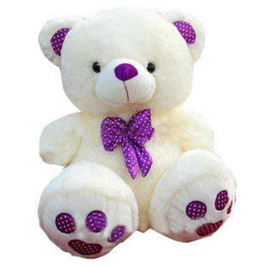 "Beautiful Purple Bear 16"" inches"