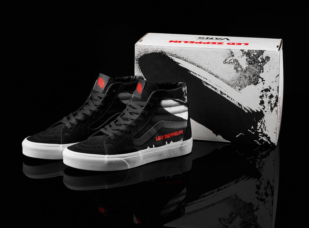c124bf273e The Era and Sk8-Hi will each be sold with a special Vans x Led Zeppelin  custom shoebox.