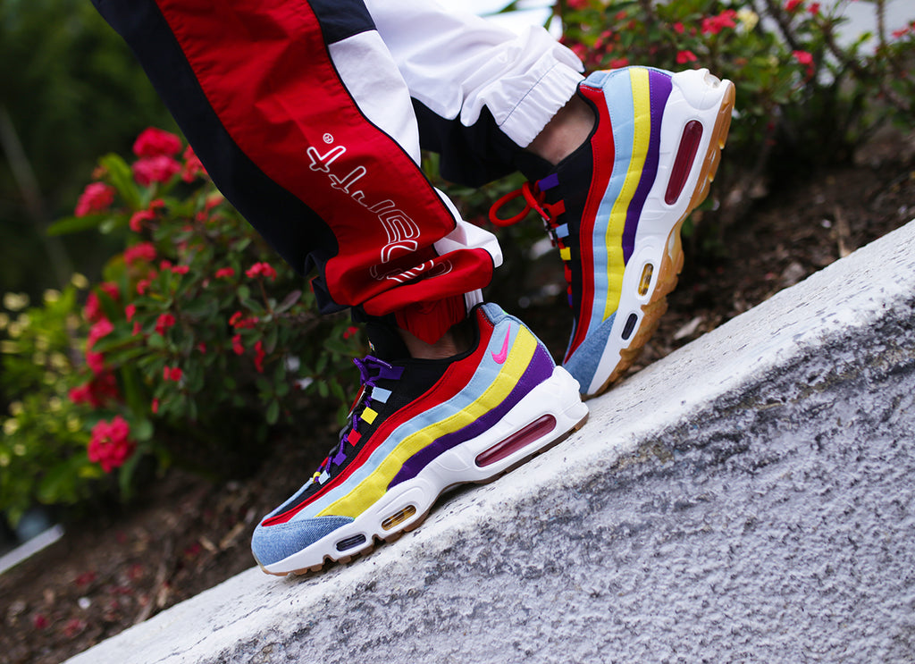nike air max multicolor camo outfit