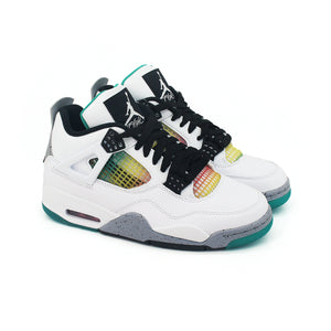 "Nike Women's Air Jordan 4 Retro ""Rasta"" AQ9129-100"