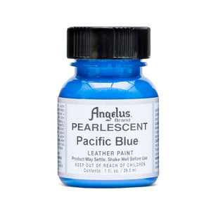 Angelus Paint 1 Ounce Pearlescent Pacific Blue