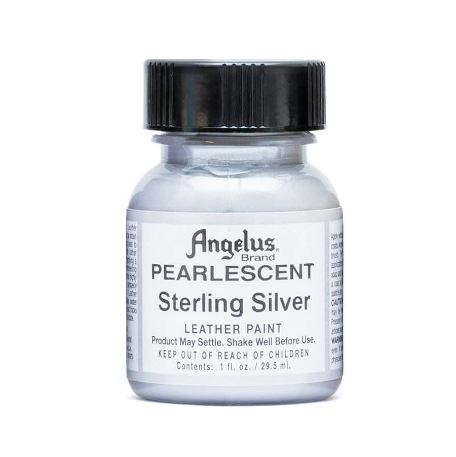 Angelus Paint 1 Ounce Pearlescent Sterling Silver