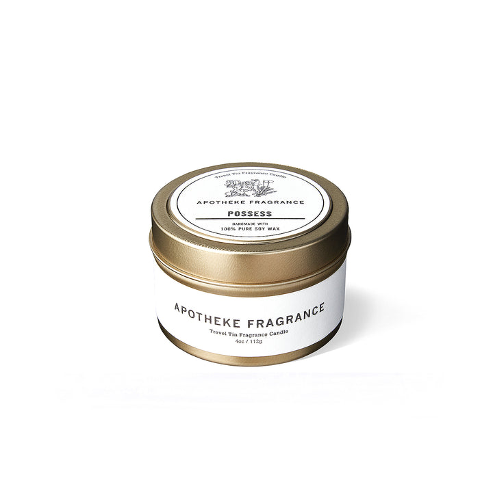 "Apotheke Fragrance Tin Candle ""Possess"""