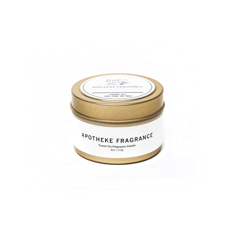 "Apotheke Fragrance Tin Candle ""Between The Sheets"""
