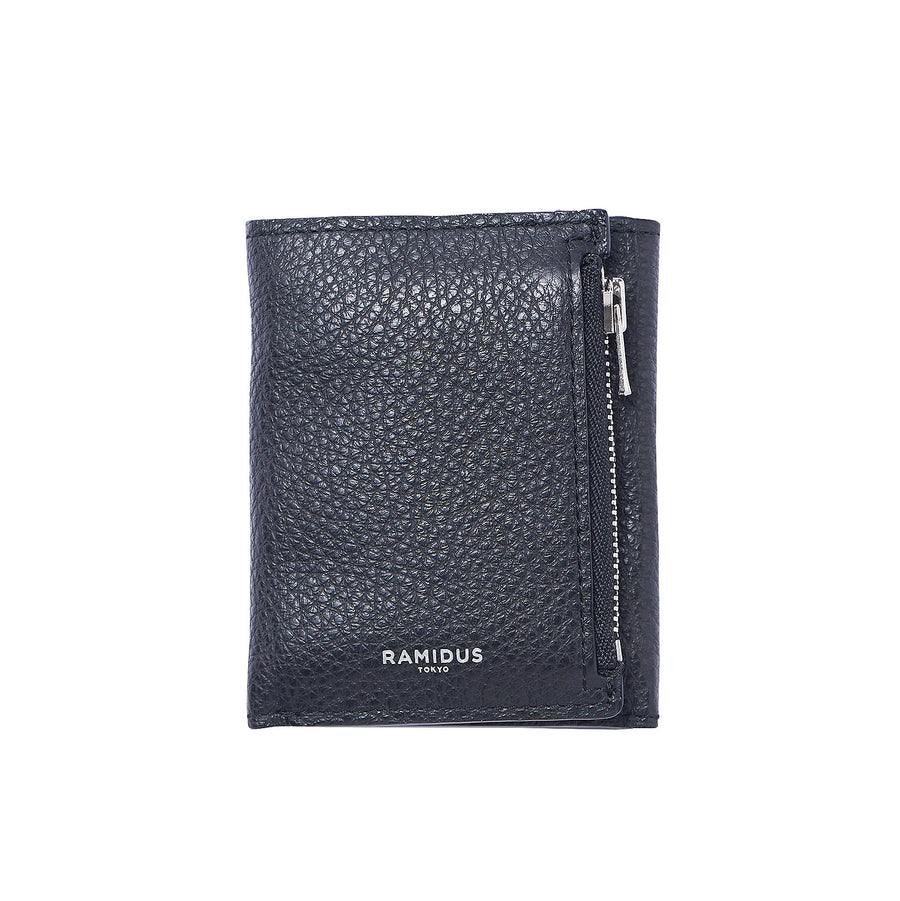 Ramidus Corte Tumbled Mini Wallet Black B015017