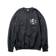 Bounty Hunter Old Skull Crewneck Sweater