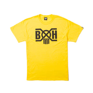 Bounty Hunter Logo Bounty Hunter Tee Yellow/Black