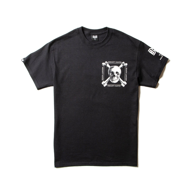 Bounty Hunter Real Skull Tee Black