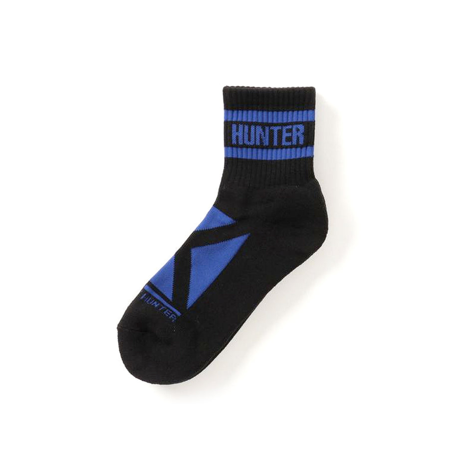 Bounty Hunter Square Logo Socks Black/Blue