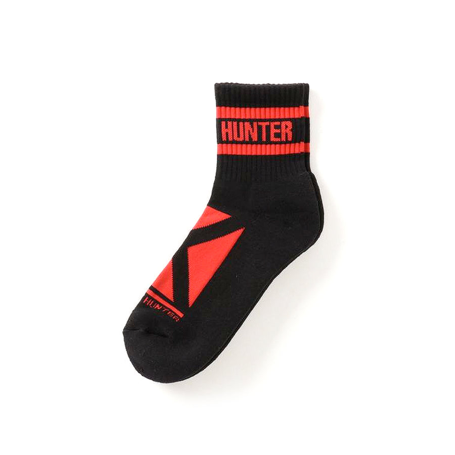 Bounty Hunter Square Logo Socks Black/Red