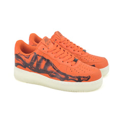 Nike Air Force 1 Skeleton QS Orange CU8067-800