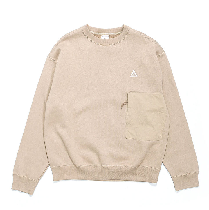 Nike ACG NRG Fleece Crewneck Khaki/Summit White CV0681-247