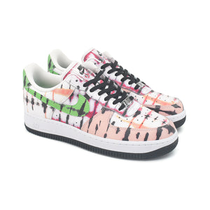 Nike Womens Air Force 1 Low Black Tie Dye CW1267-101